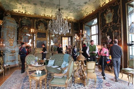 Гости показа Chanel Métiers d'Art Париж-Зальцбург