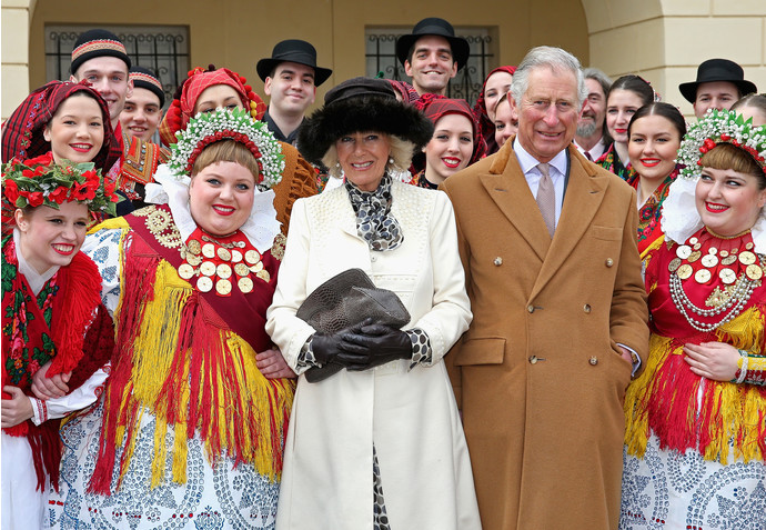 Камилла Боулз и принц Чарльз