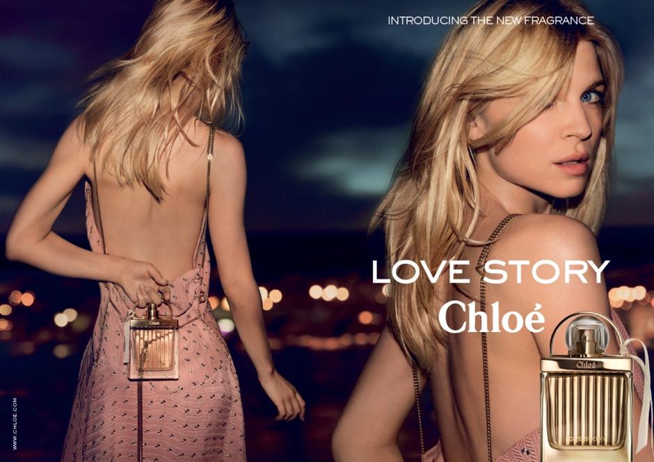Клеманс Поэзи в рекламе Chloe