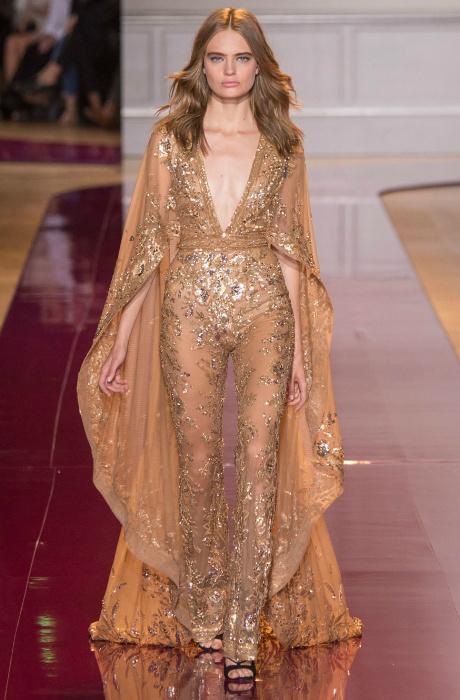 На просвет: показ Zuhair Murad Couture в Париже