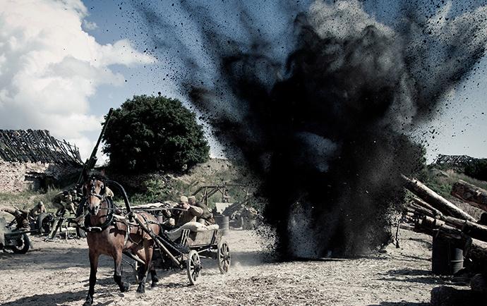 Кадр из фильма «Сталингард» Ника 2014
