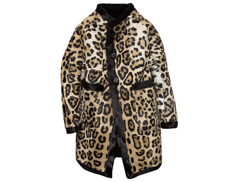 Пальто из меха, Dsquared2, 270 314 руб.