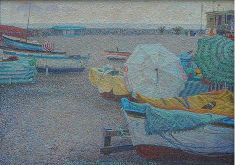 Открытие выставки художника Никиты Макарова «География воздуха» | галерея [1] фото [6]