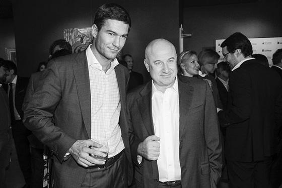 Алексей Гарбер с отцом Марком