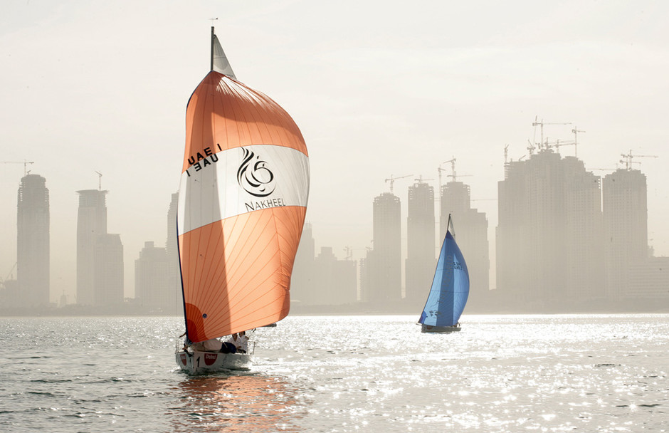 Яхтенный спорт — непременный атрибут роскошной жизни в Дубае