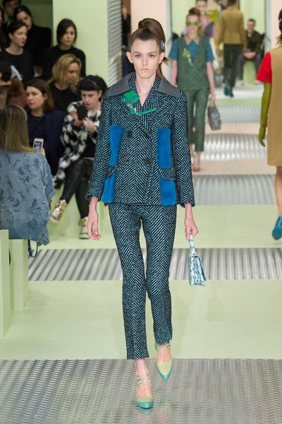 Показ Prada на Неделе моды в Милане | галерея [1] фото [31]