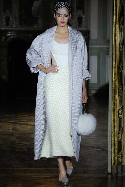 Показ Ulyana Sergeenko на Неделе высокой моды | галерея [1] фото [12]