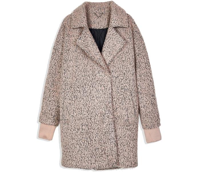Твидовое пальто Reserved