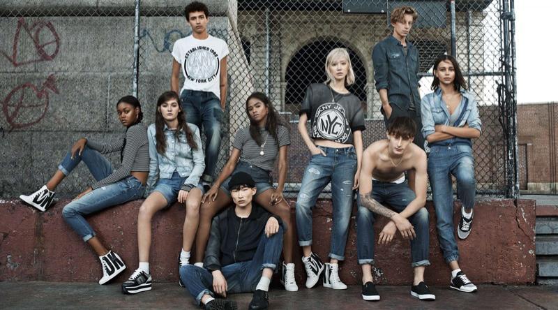 Деним от DKNY
