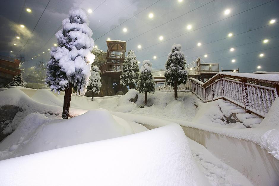 Ski Dubai в Mall of Emirates