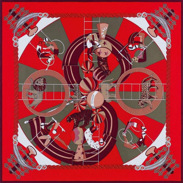 эрмес платки 2013