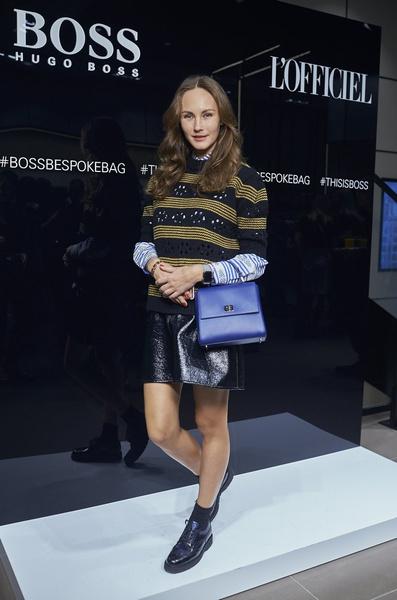 HUGO BOSS представил в России сумку BOSS Bespoke | галерея [1] фото [9]