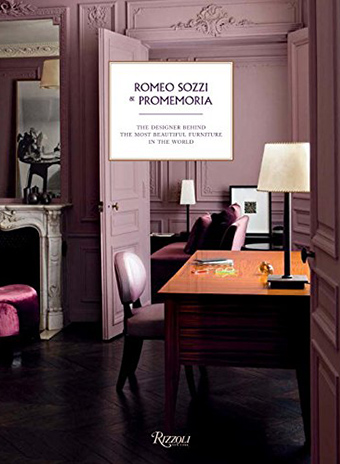 Книга Ромео Соцци & Promemoria «Дизайнер, который стоит за самой красивой мебелью в мире»