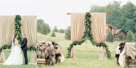 Весенняя свадьба: оформление | галерея [4] фото [2]