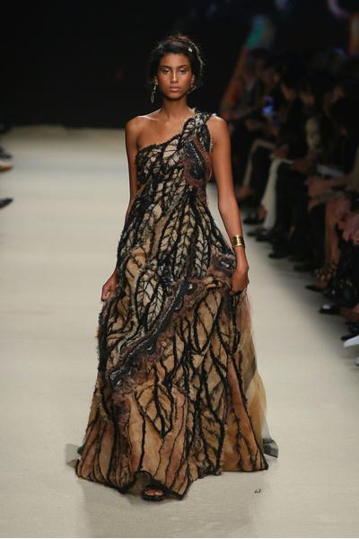 50 лучших платьев Недели моды в Милане | галерея [1] фото [48]