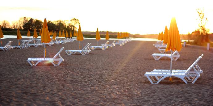 Пляж Radisson Resort Zavidovo