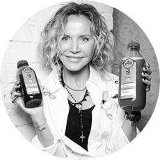 Ирина Азарова, идеолог и владелица ресторанов Fresh в Москве, создатель программы Smooth Juicing