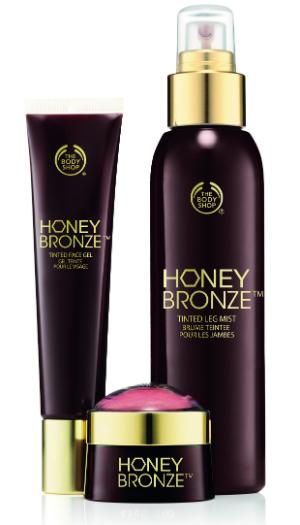 Коллекция средств Honey Bronze от The Body Shop