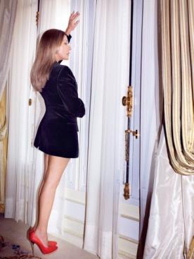 Пиджак, Louis Vuitton; туфли, Lanvin