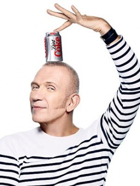 Жан-Поль Готье сотрудничает с Diet Coke