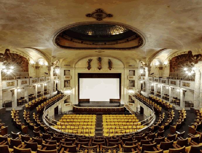Odeon (Флоренция, Италия) самые необычные кинотеатры мира