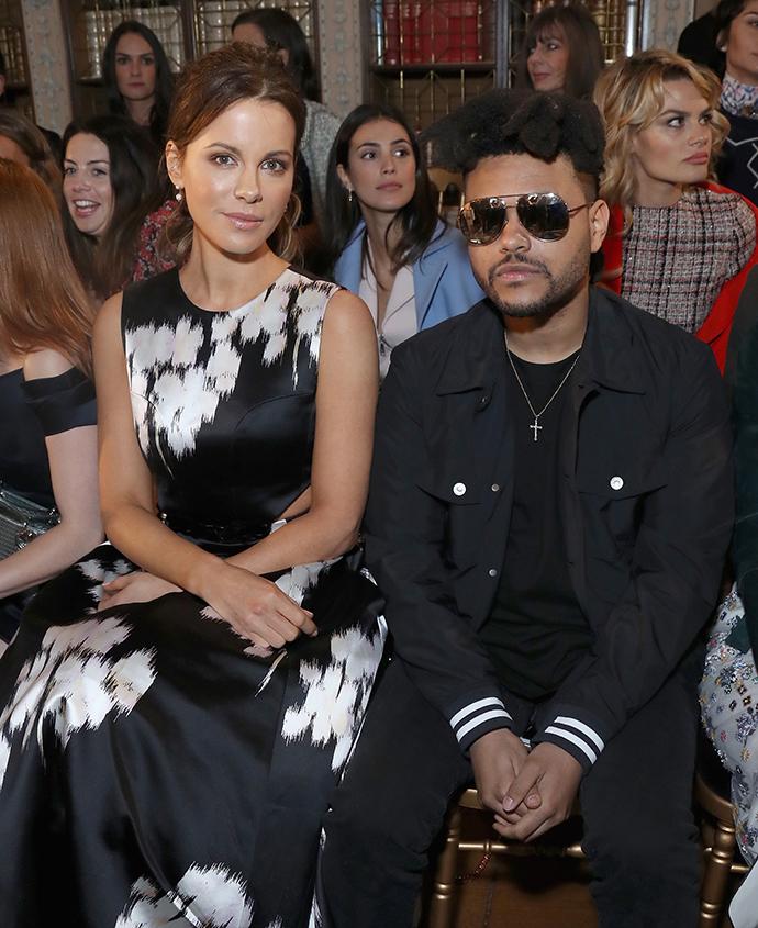 Кейт Бекинсейл и The Weeknd