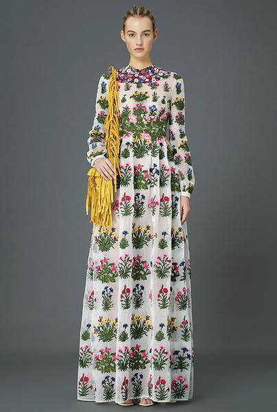 Главные тренды pre-fall коллекции Valentino | галерея [3] фото [10]