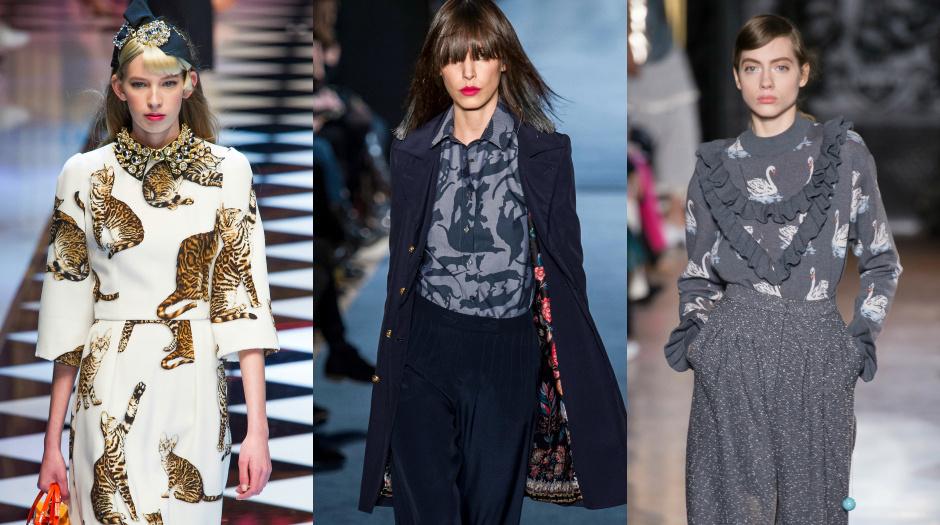 Модные принты 2017