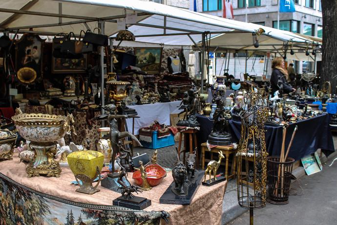 рынок Kunst und Flohmarkt am Tiergarten