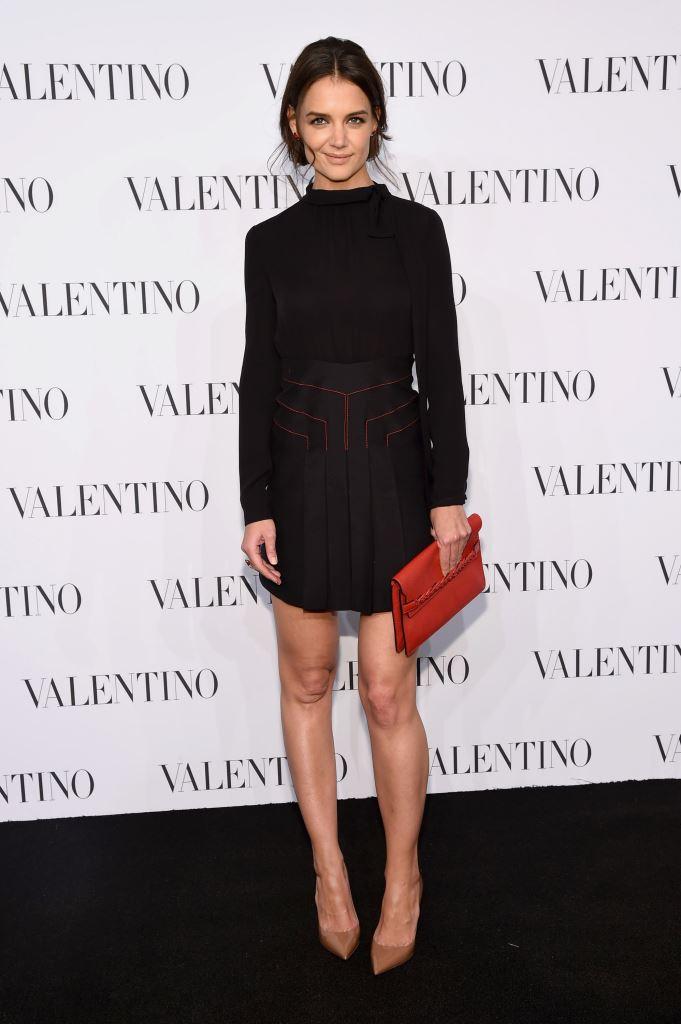 Кейти Холмс в Valentino
