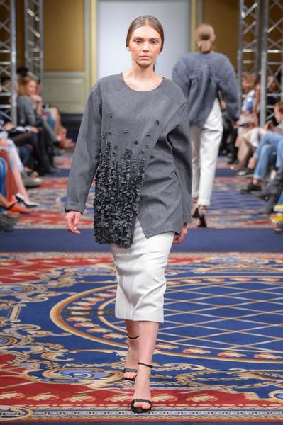 Показ осенне-зимней коллекции Ruban на Mercedes-Benz Fashion Week RussiaПоказ осенне-зимней коллекции Ruban на Mercedes-Benz Fashion Week Russia | галерея [2] фото [25]