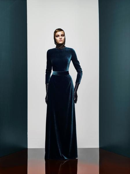 Хозяйка Медной горы: новая pre-fall коллекция A LA RUSSE Anastasia Romantsova | галерея [2] фото [4]