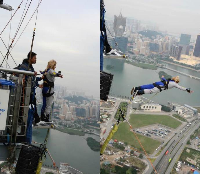 Прыжок с небоскреба: банджи-джампинг в Макао 4