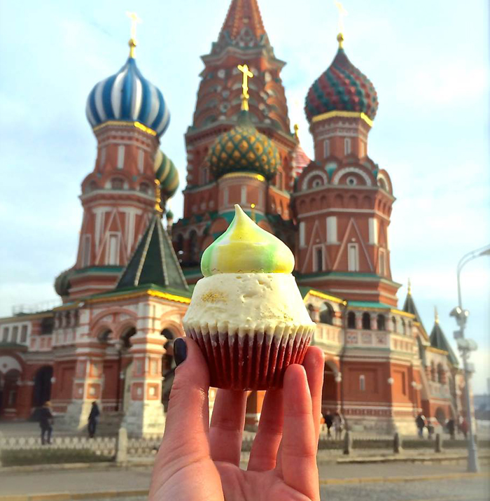 Moscow Cupcake