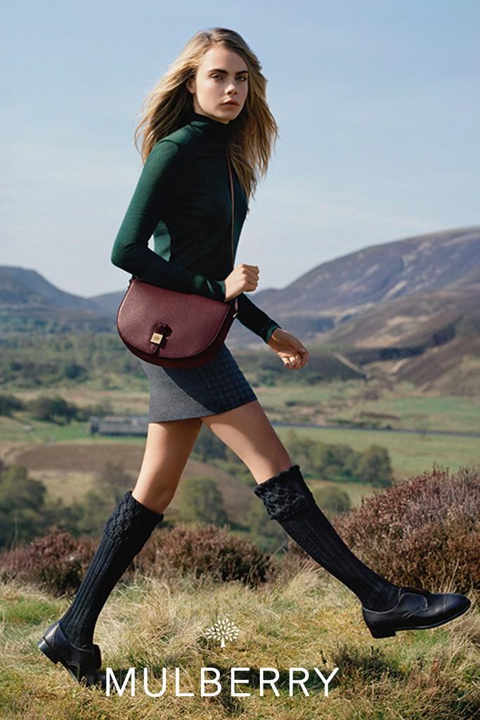 Британская модель Кара Делевинь (Cara Delevingne): фото