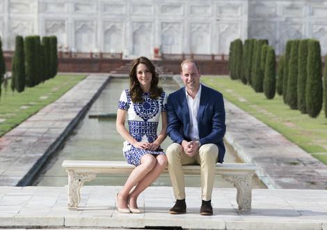 История любви Кейт Миддлтон и принца Уильяма в фотографиях | галерея [5] фото [3]