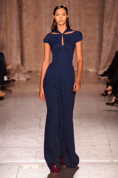 Black tie: показы Carolina Herrera, Reem Acra и Zac Posen на Неделе моды в Нью-Йорке | галерея [1] фото [3]