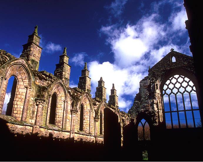 Холирудский замок, Эдинбург