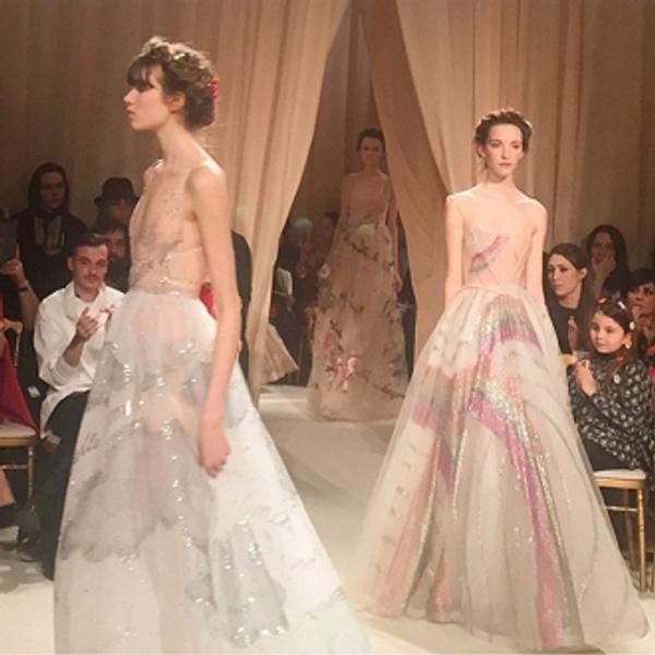 От первого лица: Неделя моды Haute Couture глазами редактора ELLE | галерея [8] фото [5]