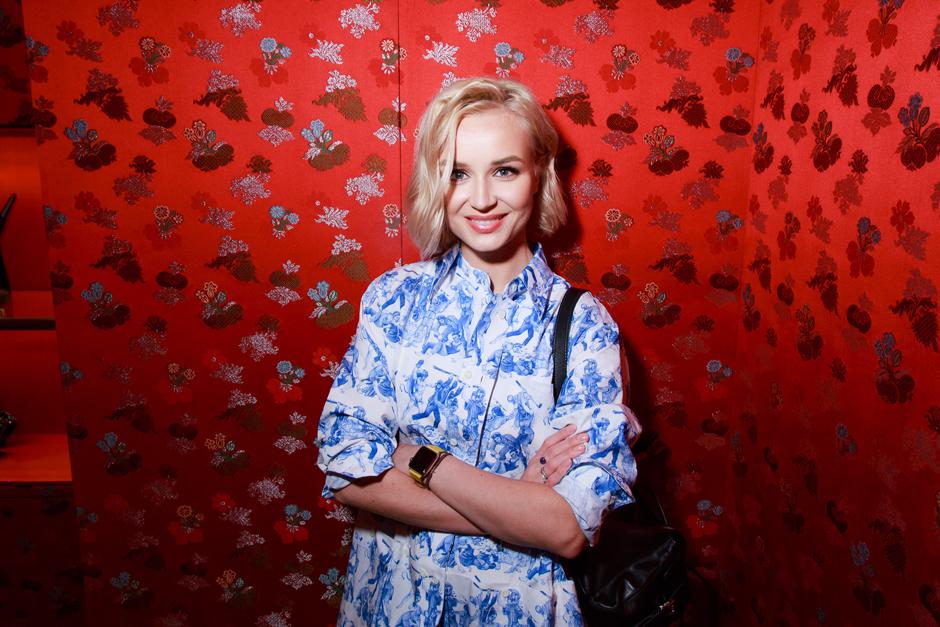 Звезды на открытии бутика Prada в ГУМе