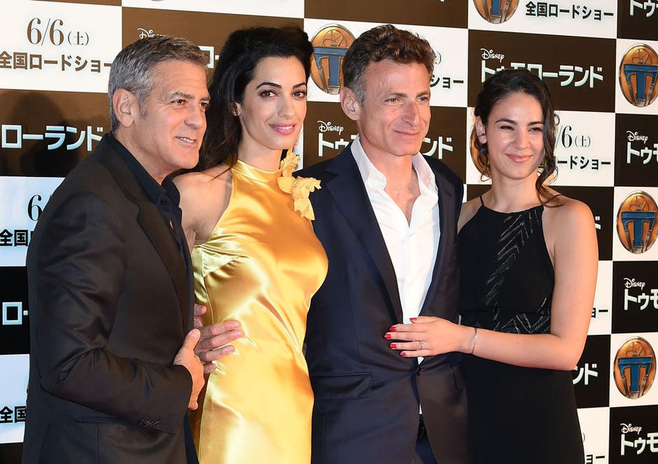 Джордж и Амаль Клуни в Токио