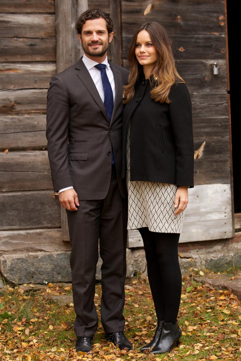 Принцесса Швеции Срфия и принц Карл Филипп