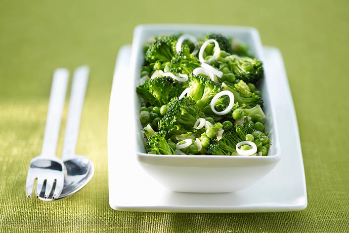 Очень зеленый салат