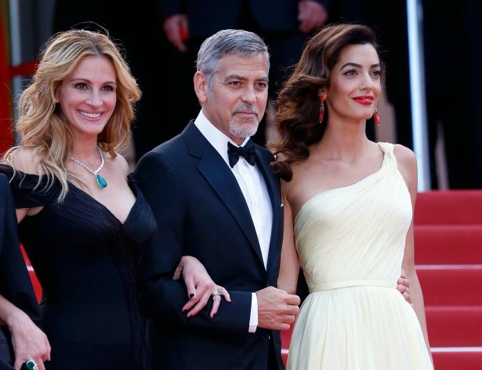 Джулия Робертс, Амаль и Джордж Клуни