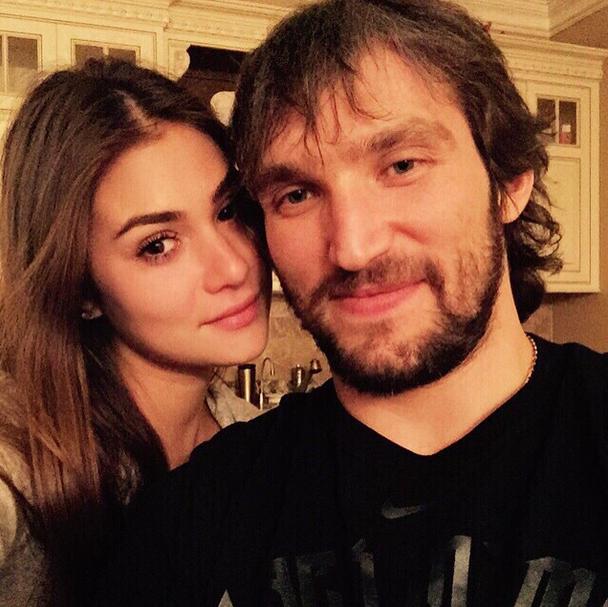 Анастасия Шубская и Александр Овечкин