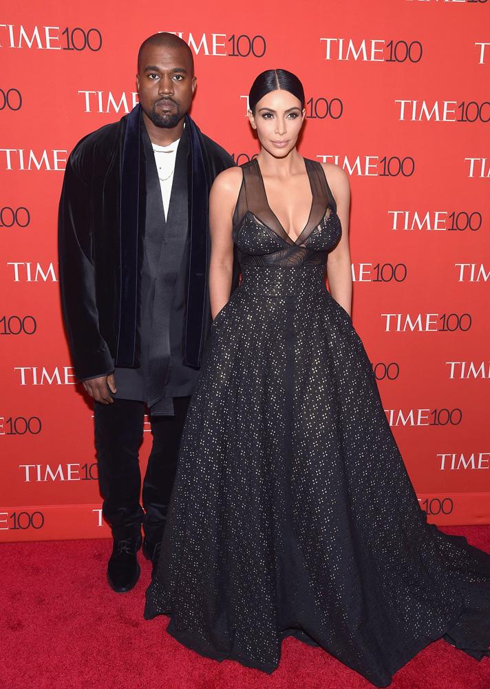 Ким Кардашьян с мужем: фото 2015