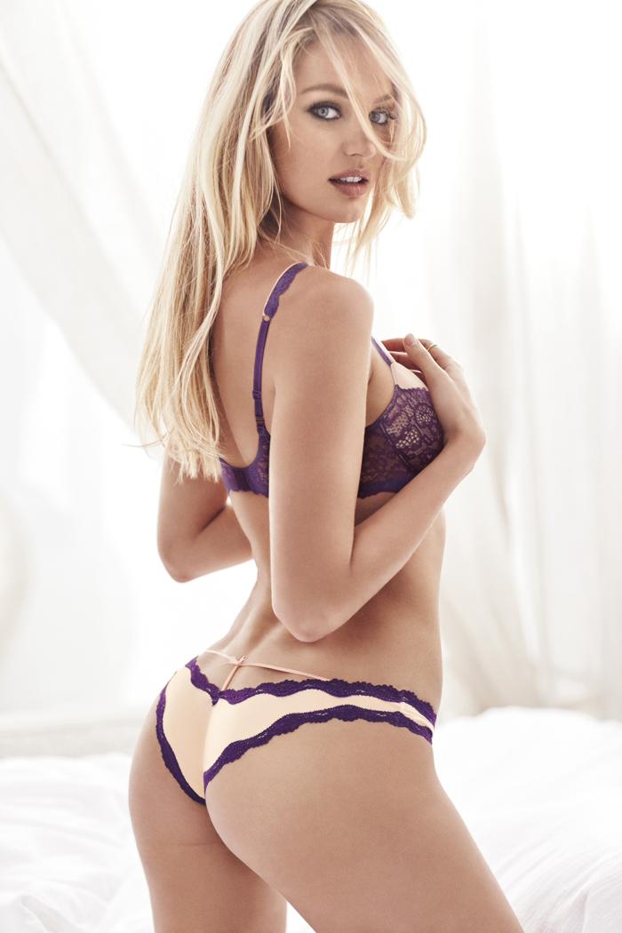 Кэндис Свейнпол для Victoria's Secret