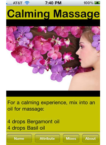Приложение Aromatherapy Guide фото2