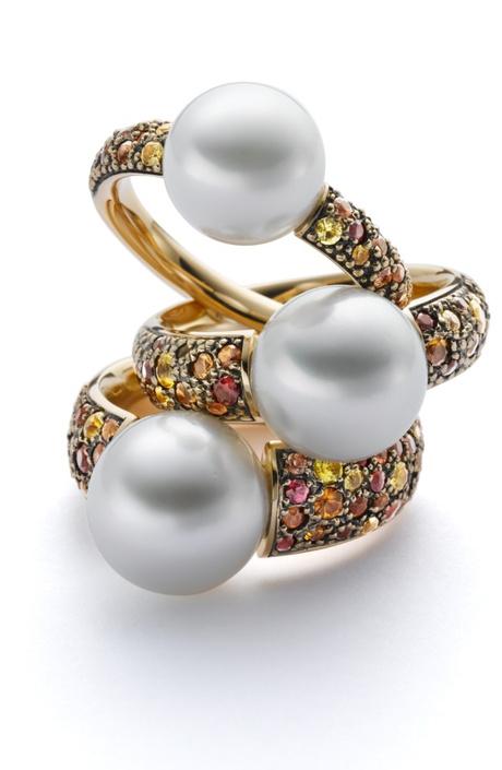 Кольца с жемчугом Gellner