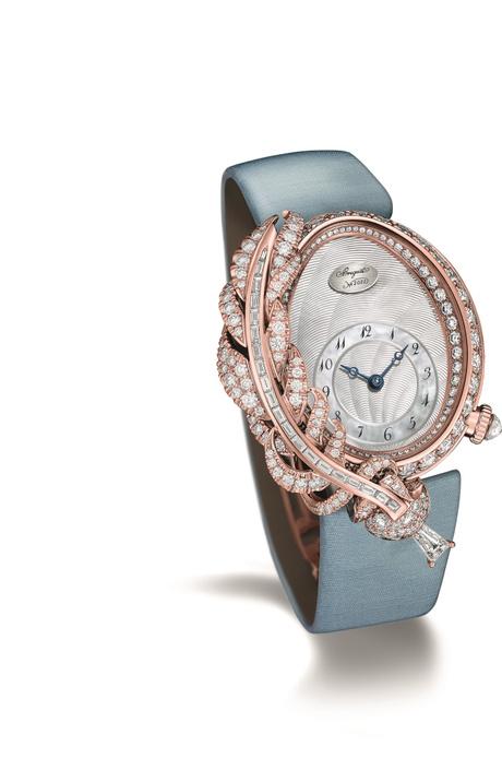 Самые поэтичные часы в коллекции Plumes от часового Дома Breguet